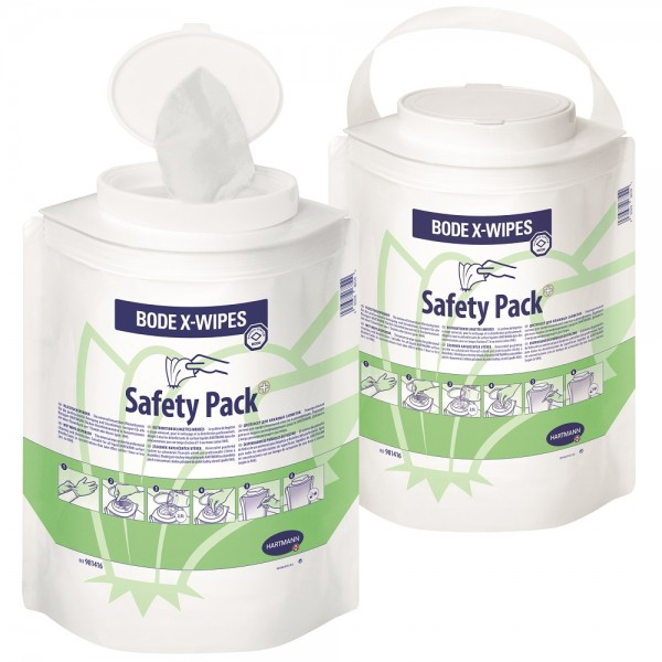 Flächendesinfektion BODE X-Wipes Safety Pack