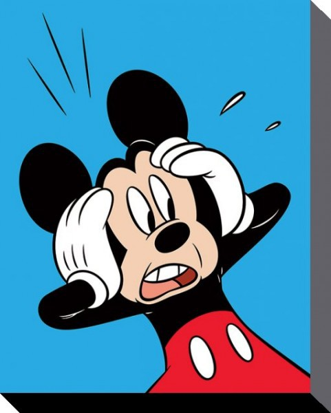 Mickey Mouse - Shocked