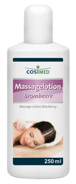 Massagelotion Brombeere
