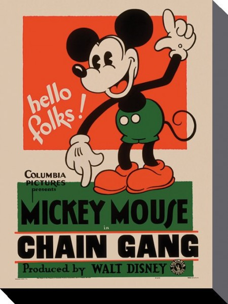 Mickey Mouse - Chain Gang